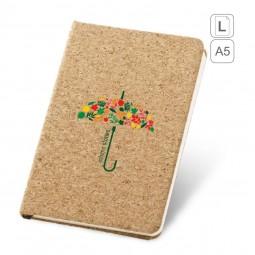 Caderno capa cortiça personalizado-portel-93719