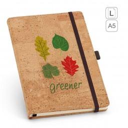 Caderno capa em Cortiça personalizado A5 Portel 93730