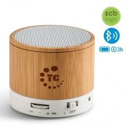 Caixa de Som Bluetooth personalizada para brindes Glashow