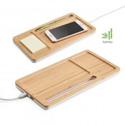Carregador Wireless bambu Mott 97911