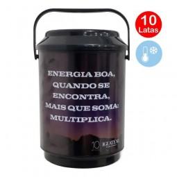 Cooler Personalizado 10 latas.