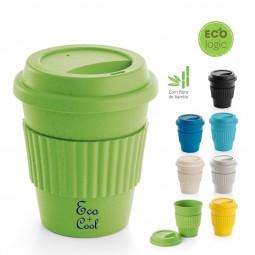 Copo Eco fibra de bambu personalizado Cuppa