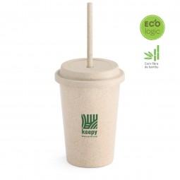Copo personalizado Ecológico fibra de bambu Valley
