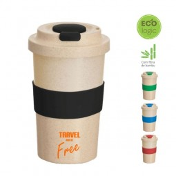 Copo Ecológico fibra de bambu CO020