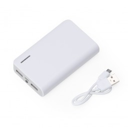 Power Bank Plástico com Lanterna 2063
